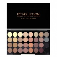 Отзывы Палетка теней MakeUp Revolution 32 EYESHADOW PALETTE Flawless Matte
