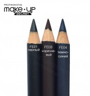 Карандаш для глаз new (Eye Pencil) MAKE-UP-SECRET FE01: фото