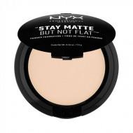 Пудра-основа NYX Professional Makeup Stay Matte But Not Flat Powder Foundation – Ivory 01: фото