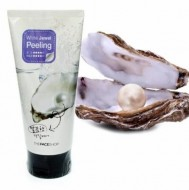 Пилинг-гель с экстрактом жемчуга THE FACE SHOP Smart Peeling White Jewel 150мл: фото