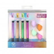 Набор цветных кистей и спонжей для макияжа Real Techniques Color Correcting Set: фото