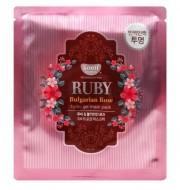 "Маска гидрогелевая ""рубин и масло розы"" KOELF Hydro gel mask pack (jewel series) ruby & bulgarian rose 30г: фото"