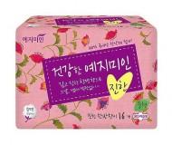 Прокладки гигиенические Натуральный хлопок YEJIMIN Rich herb cotton sanitary pads (large) 14шт (большие): фото