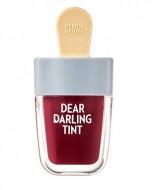 Тинт для губ увлажняющий гелевый ETUDE HOUSE Dear Darling Water Gel Tint #15 №306 Shark Red 4,5г: фото
