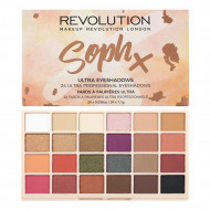 Палетка теней MAKEUP REVOLUTION SophX Ultra Eyeshadows: фото