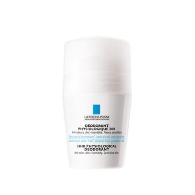 Дезодорант-ролик физиологический 24ч La Roche-Posay Deodorant 50 мл: фото