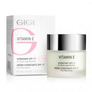 Крем увлажняющий для жирной кожи Витамин Е GIGI Vitamin E Moisturizer for oily skin SPF17 50 мл: фото