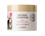 Крем очищающий лотос THE SAEM NATURAL CONDITION Lotus Cleansing Cream (N2) 300мл: фото