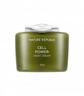 Крем для лица ночной NATURE REPUBLIC CELL POWER NIGHT CREAM 55мл: фото