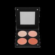 Палетка румян с зеркалом, 4 оттенка Make-Up Atelier Paris BL3DS лосось 96г: фото
