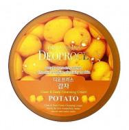 Крем для лица очищающий с экстрактом картофеля PREMIUM DEOPROCE CLEAN & DEEP POTATO CLEANSING CREAM 300г: фото