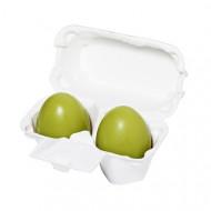 Мыло маска с зеленым чаем Holika Holika Green Tea Egg Soap, 50 г*2: фото