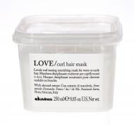 Маска для усиления завитка Davines Essential Haircare LOVE curl hair mask 250мл: фото