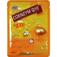 Маска тканевая с коэнзимом May Island Real Essence Coenzyme Q10 Mask Pack 25мл: фото