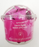 Маска для лица AYOUME ENJOY MINI WASH-OFF PACK 3гр*30: фото