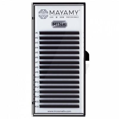 Ресницы MAYAMY MINK 16 линий С 0,10 8 мм: фото